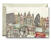 London - Greeting Card