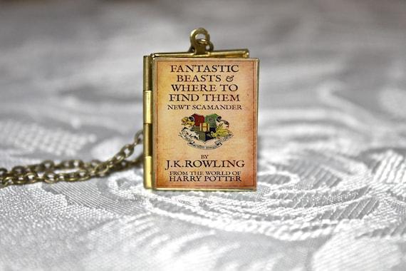 Medallón del libro animales fantásticos y dónde encontrarlos