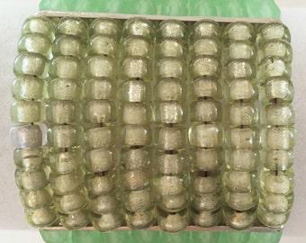 8-strand Light Green Bracelet