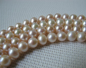7.5-8mm Natural Color Potato Freshwater Pearl PL20