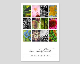 2016 Desk Calendar, Photo Calendar, 4x6 Desk Calendar, Fine Art Photography, 4x6 Calendar, 2016 Calendar, Nature Photography