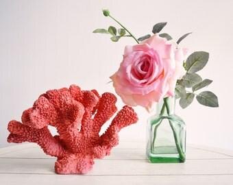 Large Decorative Coral Polyresin Figurine - Nautical Beach Style Decor, Coastal Decor, Sea Coral Reef, Ocean Theme Decorative Accessories