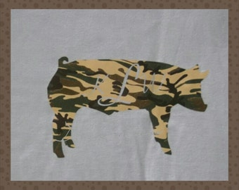 Youth Pig T-shirt. Custom personalized hog Shirt. Livestock shower kids shirt. Barn Wear. Summer Fair clothing.  County Fair shirt
