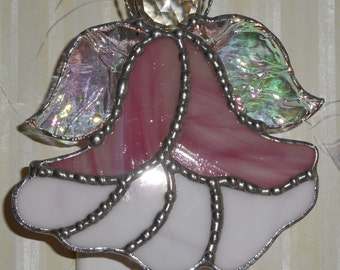 Stained Glass Angel Nightlight- Handcrafted in the USA