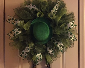 18in St. Patrick's Day wreath