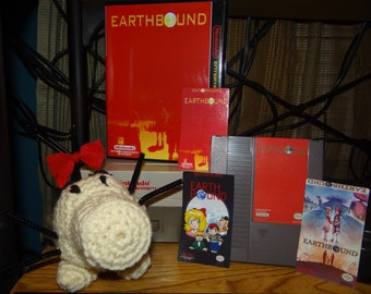 NES Nintendo Earthbound Repro cartridge & case (** Case is optional/select under 'Variation) *Higher Quality Parts used!