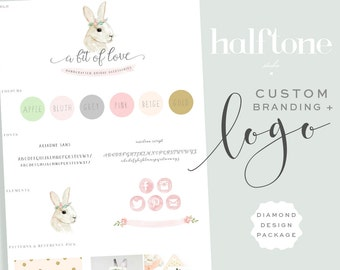 Custom Logo Design Package, DIAMOND,  Professional Logo Design