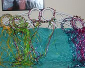 Custom order 11 Fairy Princess Crowns Turquoise and Pink