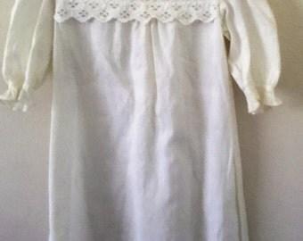 Vintage infant baptism gown.