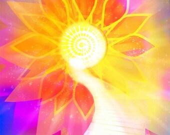 Meditative Sun #1