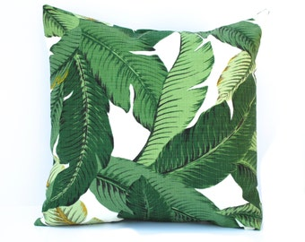 1 Tommy Bahama pillow cover, cushion, decorative throw pillow, Palm tree pillow, accent pillow, outdoor pillow, pillow case