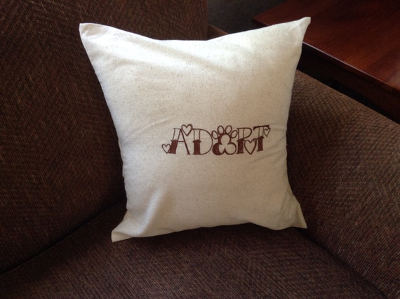 Embroidered pillow covers inspirational quotes