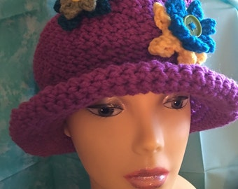 Women's and girls crochet hat