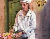 Chez Paul--French Salon de Thé pastries tea salon