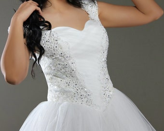 Princess Cut Tulle Gown