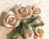 Champaign wedding Rose, 6mm,10mm, rose and buds, pack
