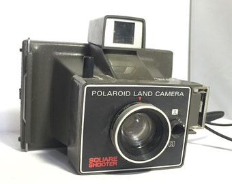 Vintage Polaroid Land Camera Square Shooter Instant Camera