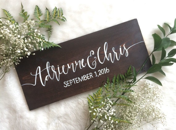 Rustic Wedding Gifts For Bride And Groom : Rustic Wedding Decor // Bride and Groom, Bride and Bride, Groom and ...