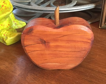 Six Piece Wood Apple Puzzle