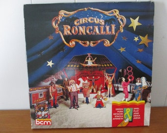New Old Stock Circus Roncalli Paper Doll Kit Sealed