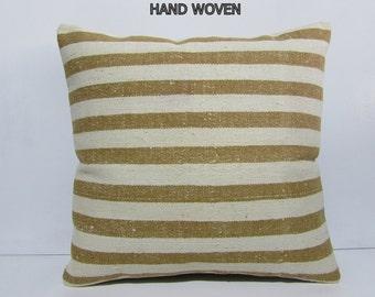 beige kilim pillow 24x24 big decorative pillow big throw pillow 60 kilim pillow extra large pillow large pillow case cream pillow case 32120