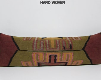 16x48 kilim pillow case large floor cushion king size pillow sham long decorative pillows big decorative pillow long bolster pillow king 350