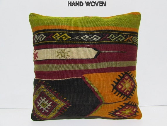 Etsy Large Floor Pillows : boho cushion cover 18 large floor pillow by DECOLICKILIMPILLOWS