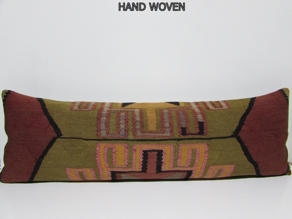 Large Floor Pillow Cases : 16x48 kilim pillow case large floor cushion king size pillow