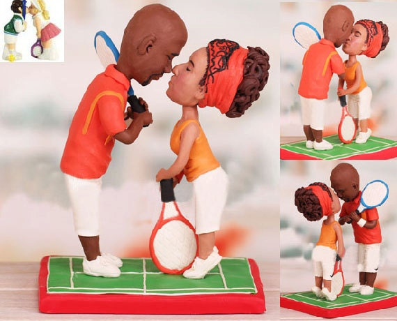 tennis wedding cake topper tennis theme topper personalised wedding cake topper free 20798