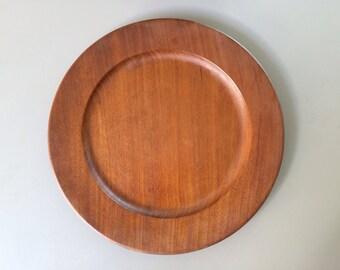Vintage 1950's Kay Bojesen Teak Plate