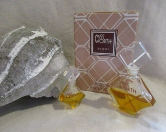 Vintage MISS WORTH Perfume