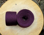 PLUM Silk Cotton blend 2700 yards recycled yarn