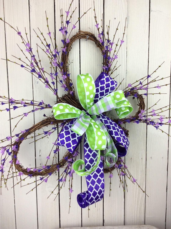 Butterfly Wreathspring Wreathspring Door Wreathsummer