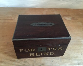 For The Blind coin box