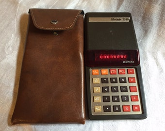 Vintage Litronix 2240 Scientific Calculator