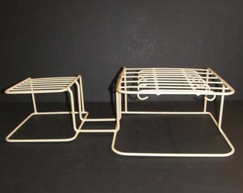 Dish Rack, Dish Holder, Plate and Cup Holder, RVs, Campers, Camping, Glamping, Travel Trailers, Vintage RVs, Cabinet Organizer