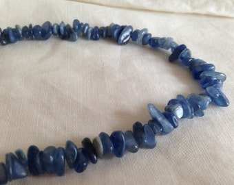 Blue sodalite natural stone chip beads
