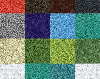 "Miyuki Seed Beads 8/0  Opaque Colors   29 Gram Tubes 6"" Tubes"
