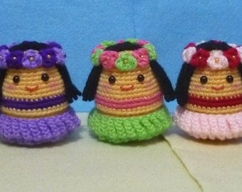 Egg Warmer: Hula-Hula Girls