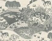Heartwood Scenic by Makower UK fabric/The Henley Studio Fabric Canada/ half yard