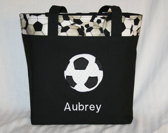 Personalized Soccer Tote Bag (Basketball, Football, and Baseball also available)