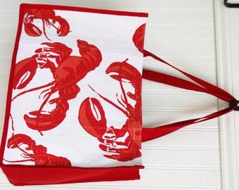 Lobster tote bag | Etsy