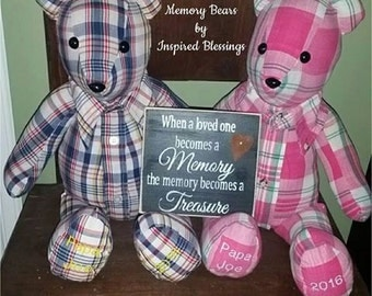 Memory Bear Keepsake Bear