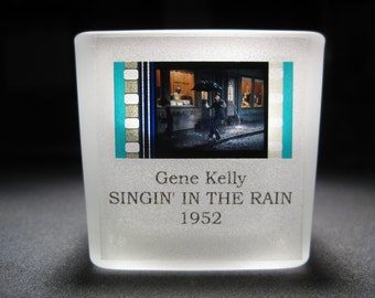 Singin' in the Rain - Gene Kelly #5 - Film Cell - Glass Votive