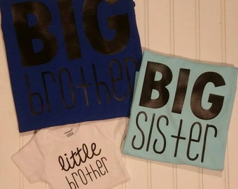 Sibling Set - Big & Little {Sister and Brother}