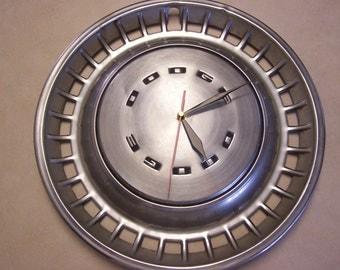 Dodge Hubcap Clock - Vintage Hub Cap Clock - Man Cave - Shop Clock - Garage Gift - Hub Cap Clock -Wall Clock - Dodge Clock, Dodge