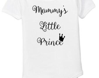 Mommy's Little Prince Bodysuit