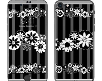 Black Retro by Juleez - iPhone 7/7 Plus Skin - Sticker Decal