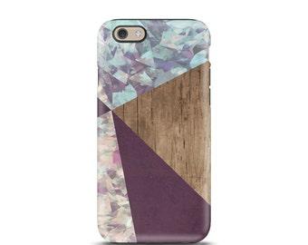 iPhone 7 case Wood, iPhone 6 case, iPhone 7 case, iPhone case, iPhone 5s case, iphone 5 case, iPhone 6s case, iphone 6 plus - Geometric