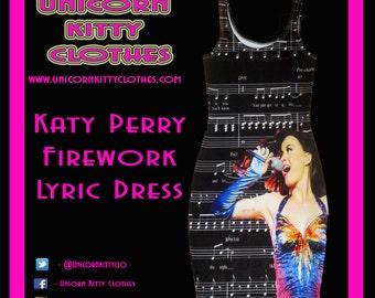 Katy Perry Firework Dress